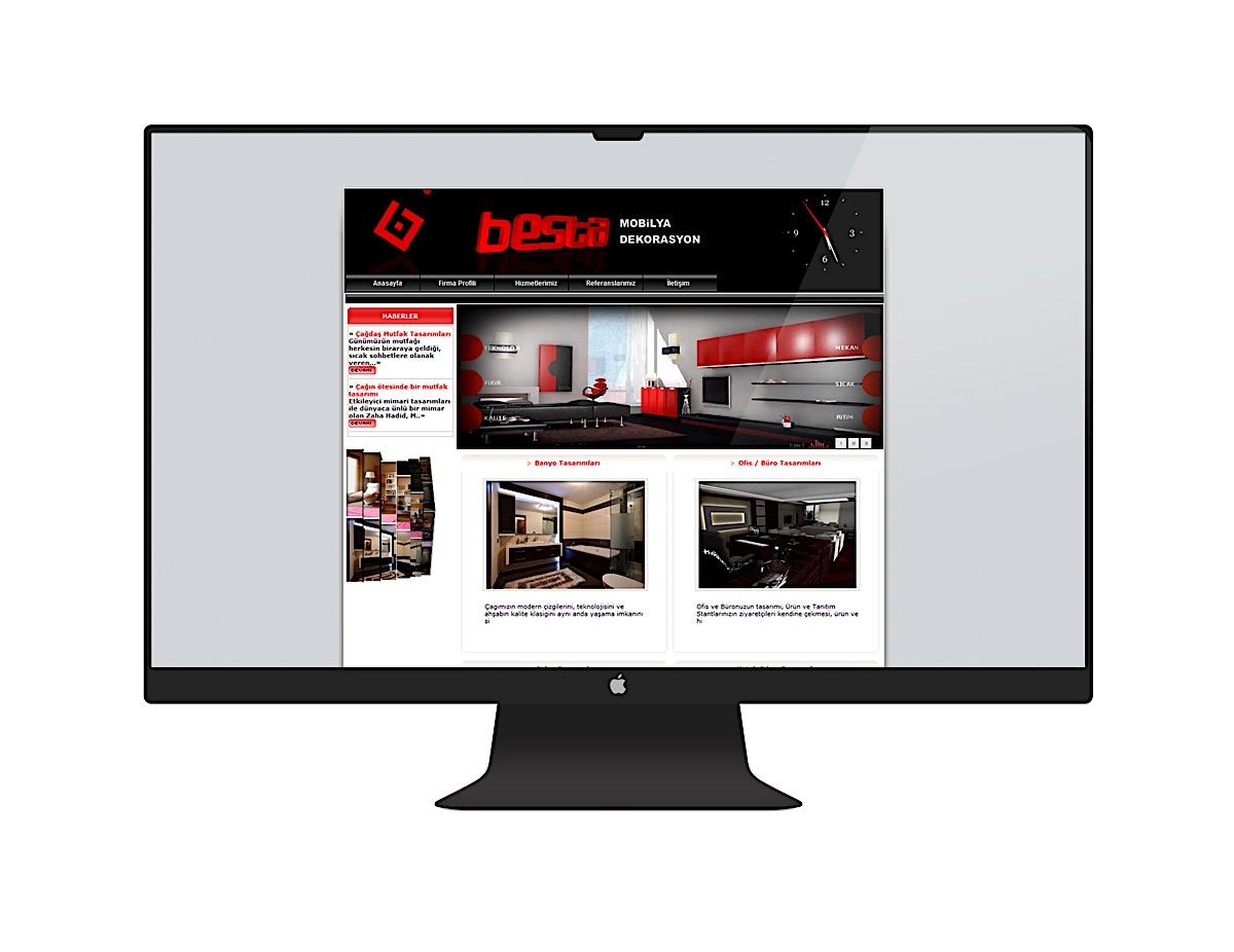 Besta old web design